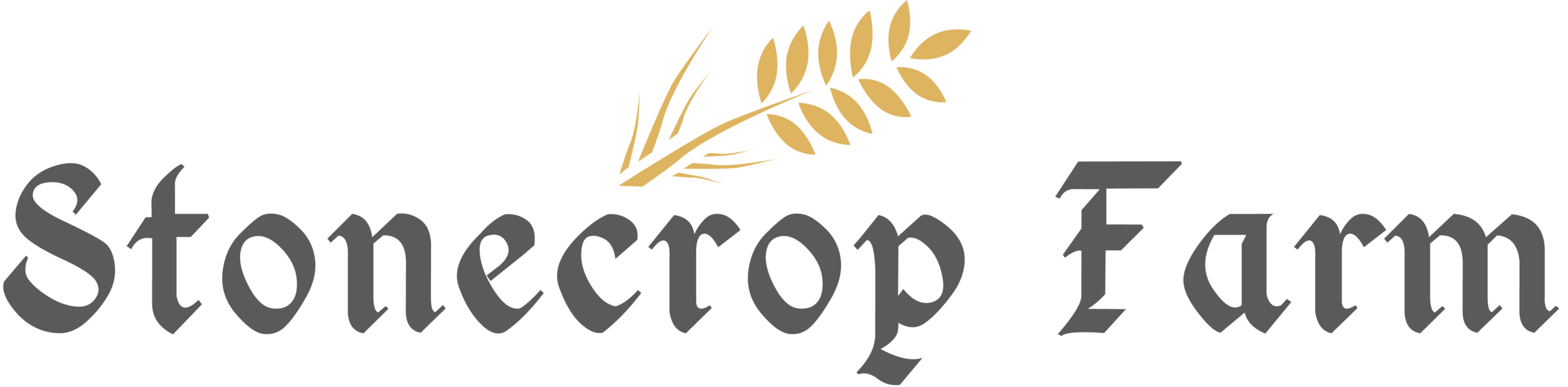 Stonecrop Farm Logo _ 595a5a Gray w. Wheat-1.png