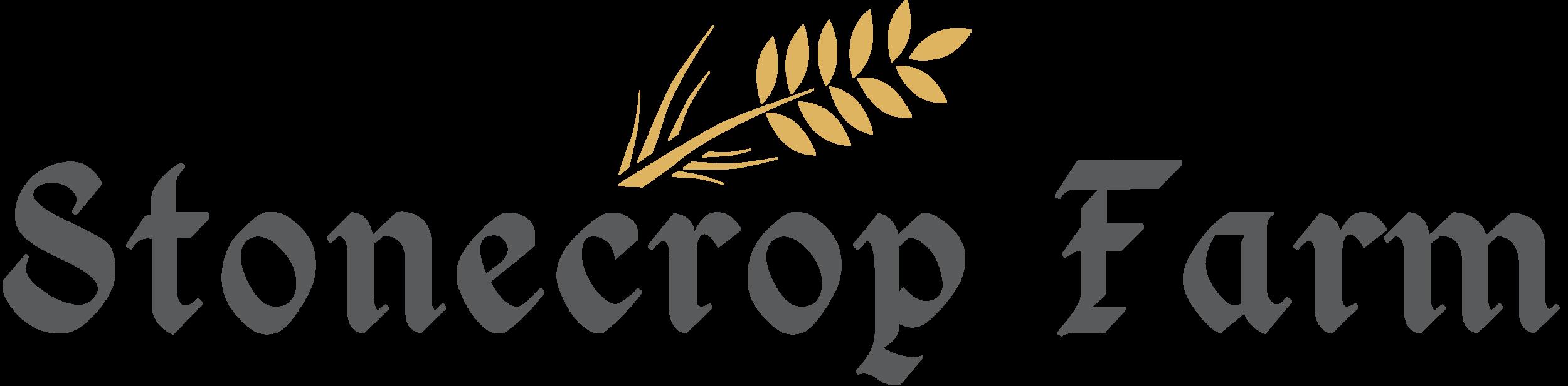 Stonecrop Farm Logo _ 595a5a Gray w. Wheat-1.png