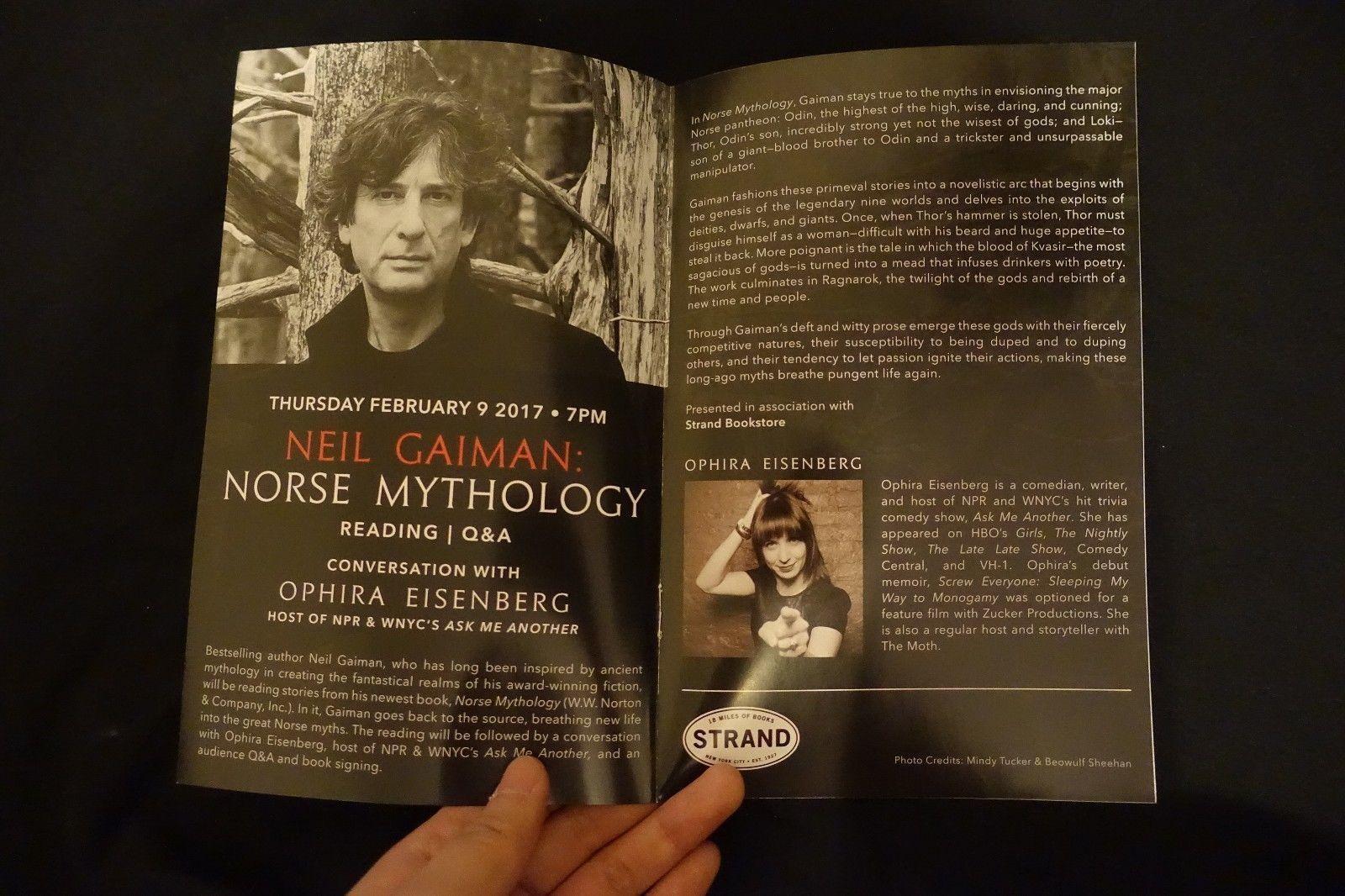 Ophira Neil Gaiman program.jpg
