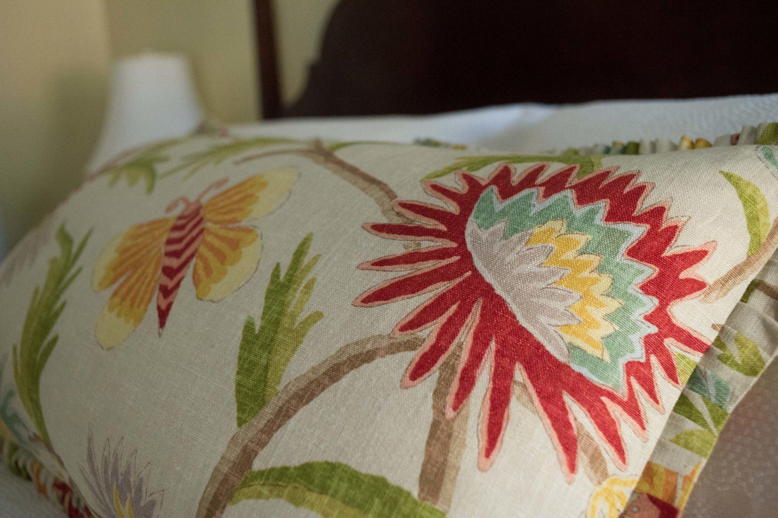 Thibaut Fabric on Pillow