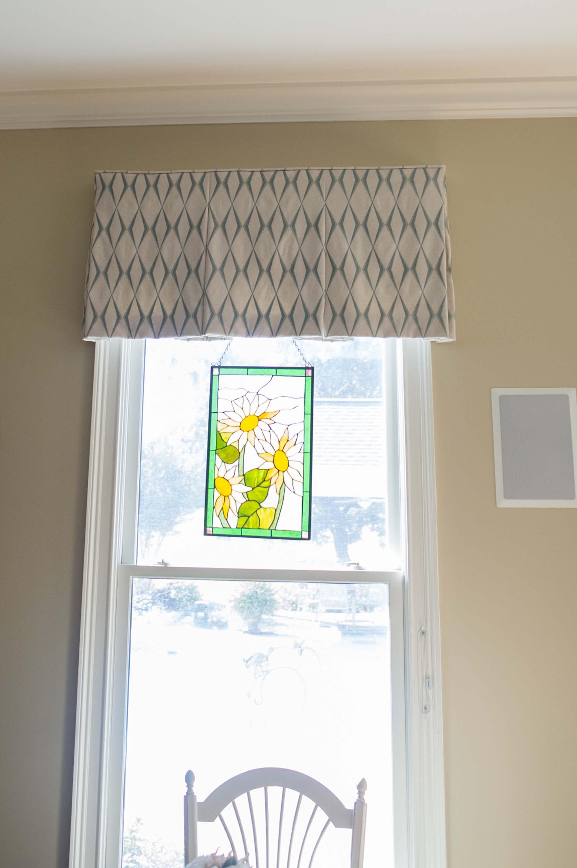 Custom Valance Window Treatment