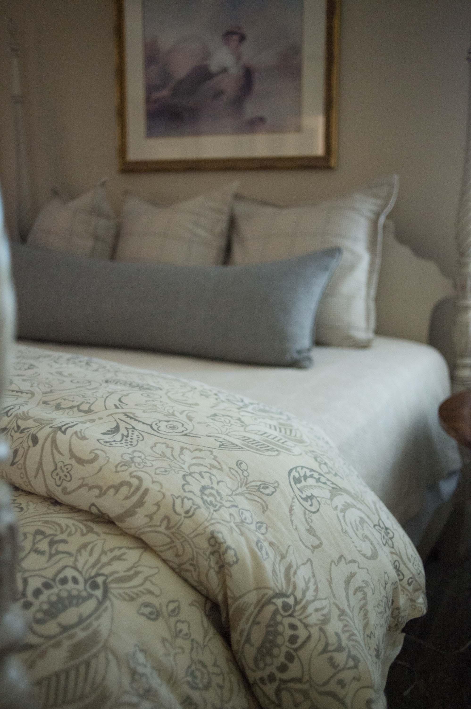 Legacy Duvet, Custom 19x60 Pillow, Legacy Euros