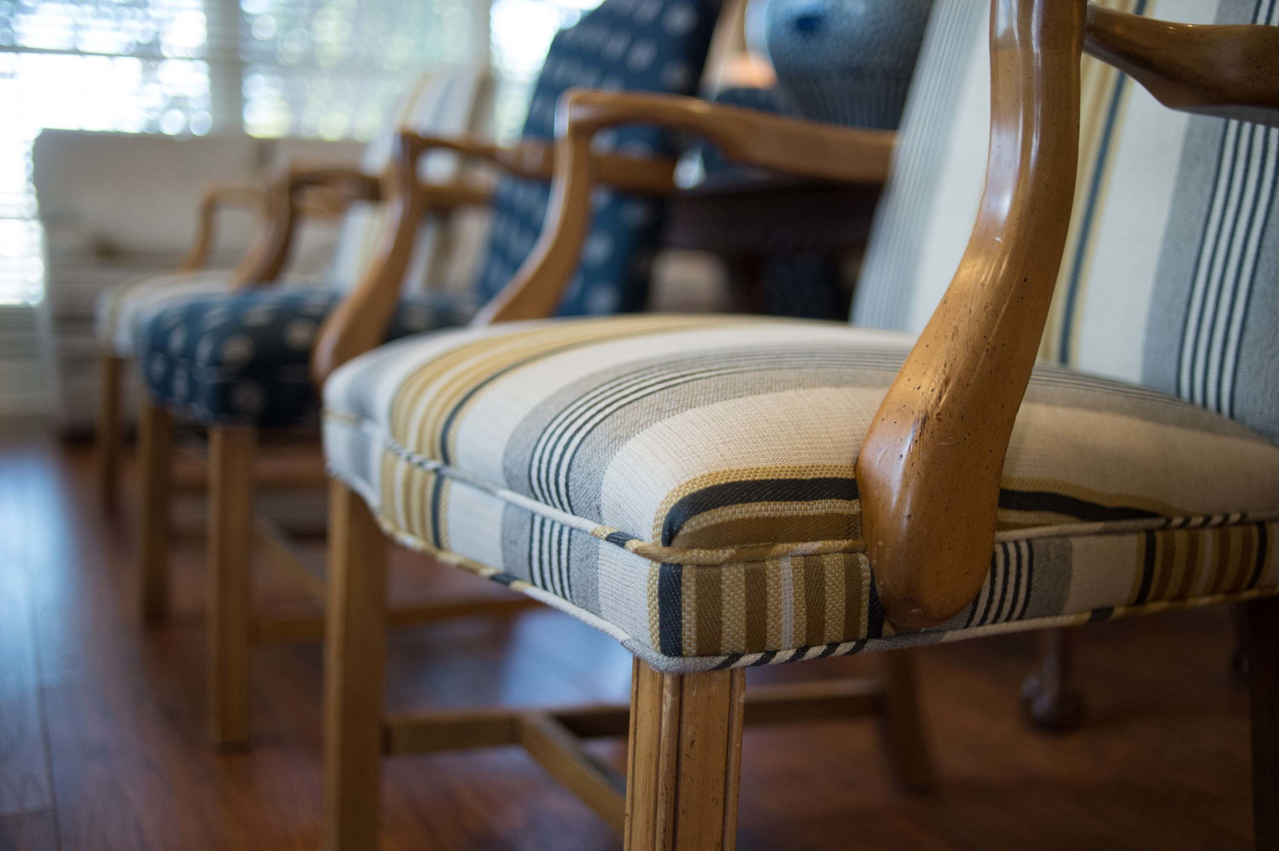 detailed seating in professional waiting room