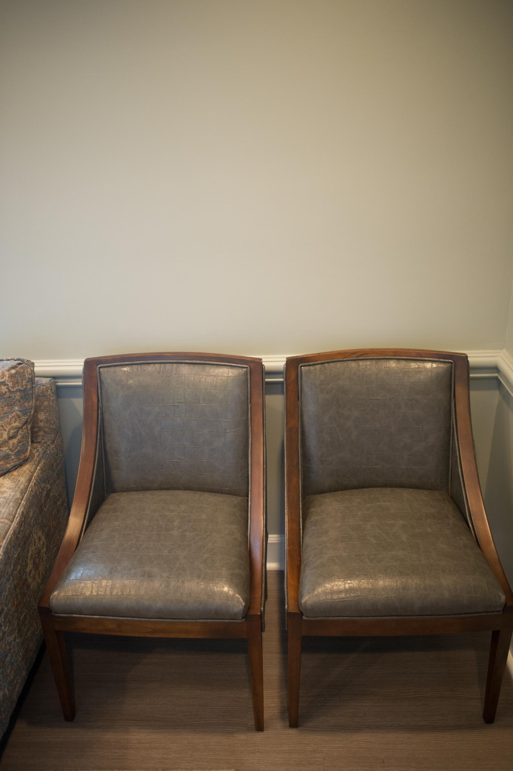 custom seating in medical waiting room