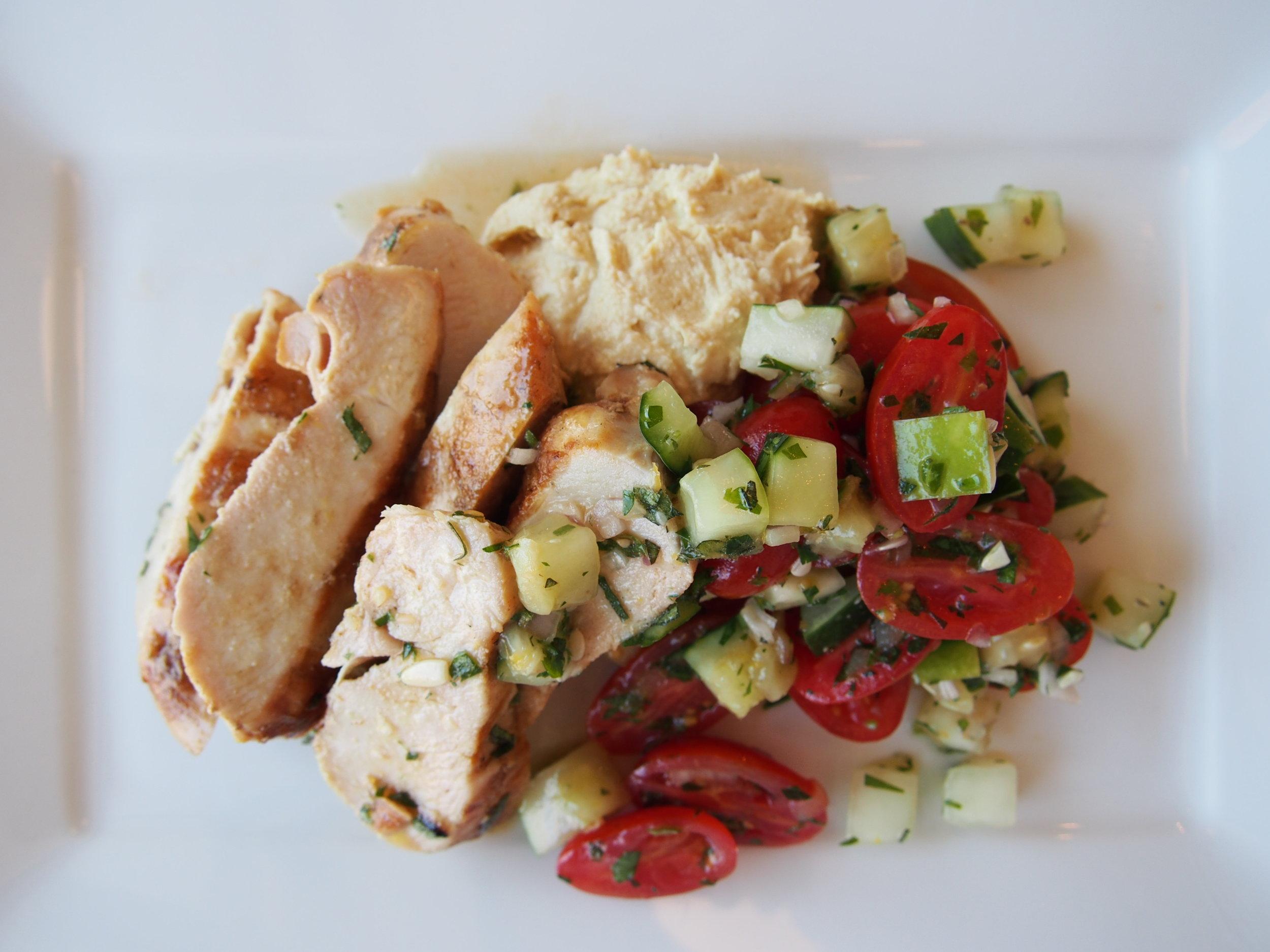 Chicken, Hummus and Tomato 1.JPG