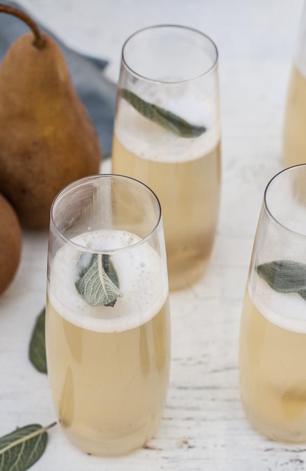 Pear and Sage Prosecco