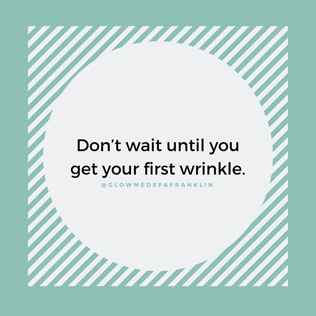 When's the best time to start preventive Botox? ⠀ ⠀ It's really a personal decision and is different for everyone. If you're starting to see the appearance of deeper or more permanent lines, then it's probably the right time for you! ⠀ ⠀ You can always schedule a complimentary consultation with one of our nurse injectors to discuss personal goals. Link in bio to book +⠀ ⠀ _⠀ -⠀ ⠀ #preventativebotox #botoxnashville #nashvillebotox #dysport #botox #newtox