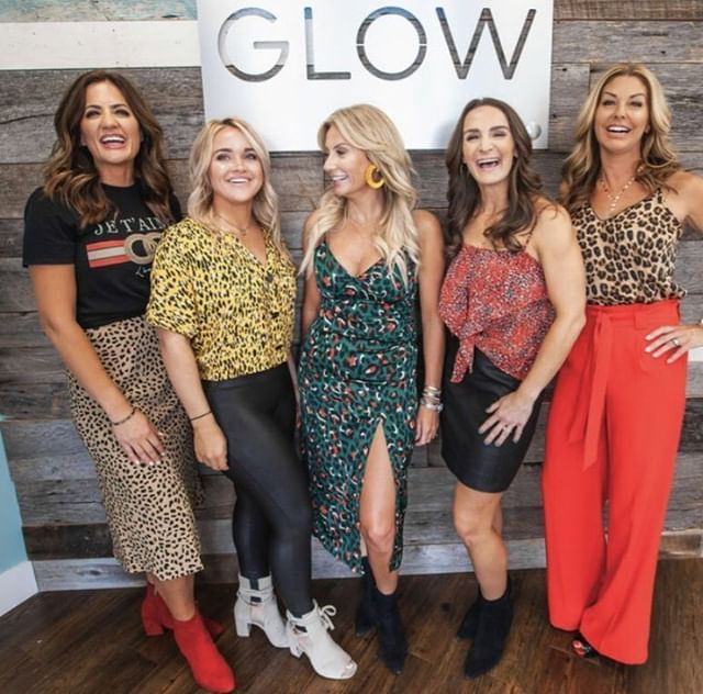 We had so much fun with @theheidcollective! Stay tuned for some exciting news! We can't wait for you to see what's coming next at Glow! 🤩