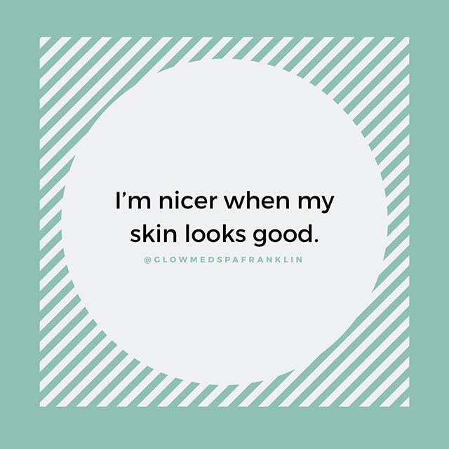 Amen 🙌🏻⠀ ⠀ •⠀ •⠀ ⠀ #nashvilleskincare #nashvillemedspa #nashvillespa #skincarequotes #skingoals