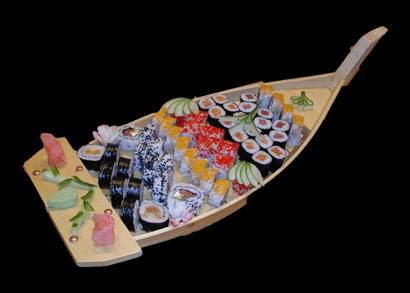 Fresh Rolled Sushi