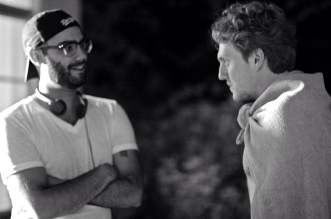 """Torre Catalano Directing Max Topplin on the set of """"Almost Anything"""""""