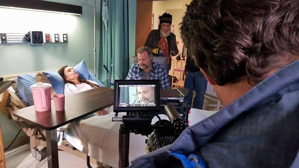 Frank Krueger Acting on Set