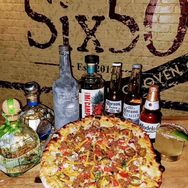 Come visit us this Sunday for Cinco de Mayo! We will be featuring $3 margaritas, $2.5 Bottles of Corona & Modelo, taco treats for $2 & specialty pizzas for $10! #six50 #six50chili #six50victor #six50sodus #cincodemayo #corona #modelo #magaritas #tacotreat