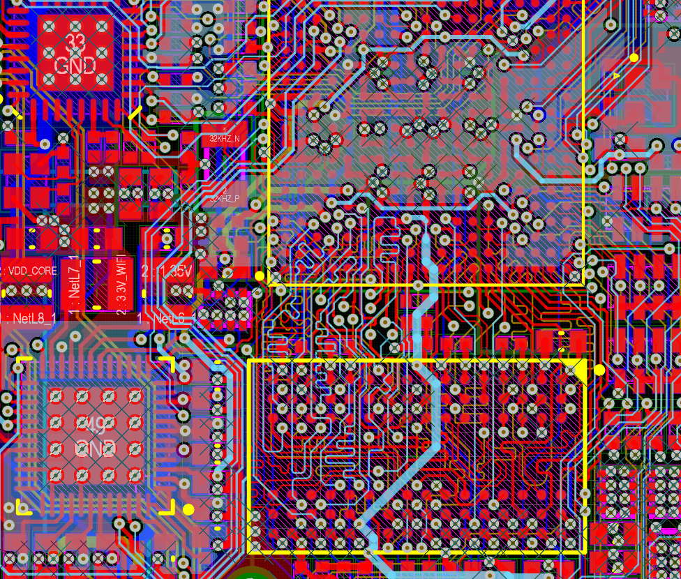 PCB design of a credit-card sized embedded Linux computer