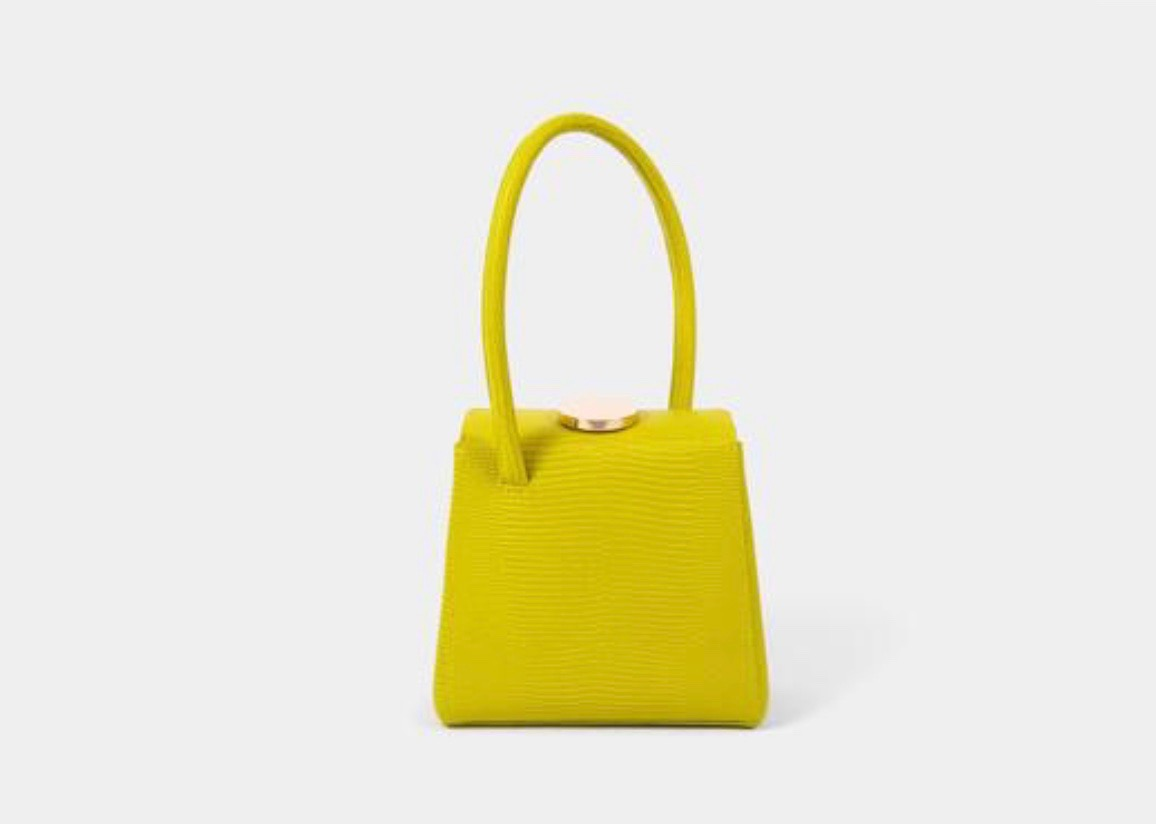 4. Lemme be your candy baby. - MADEMOISELLE KIWI BOX BAG by LITTLE LIFFNER