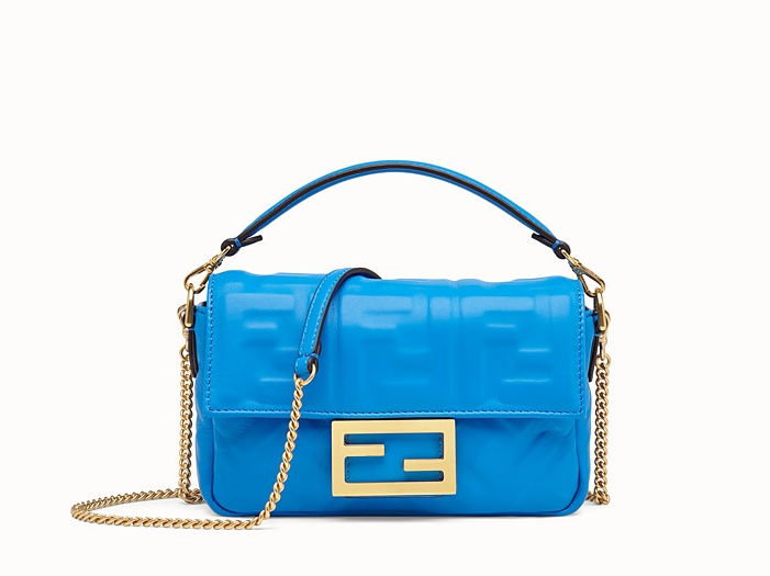 5. STATEMENT BAG - For those of you that are 100% tha bih—two choices. Equally extra.MINI BANGUETTE by FENDI
