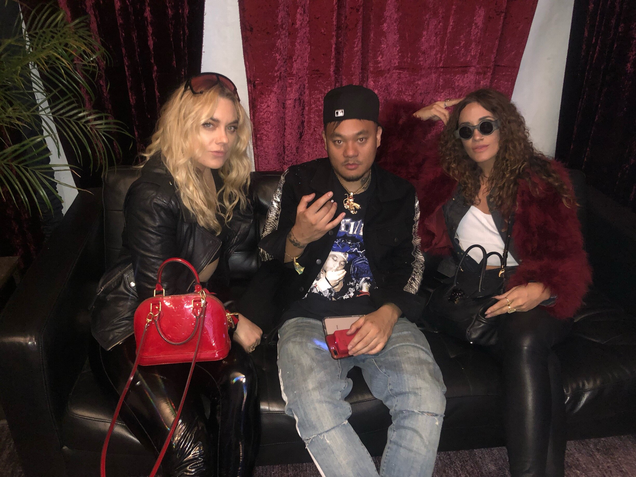 Holly Hoover & Whitney Brielle, of EYES & EDGE with Seattle Swag & Rap LORD Ill Chris.