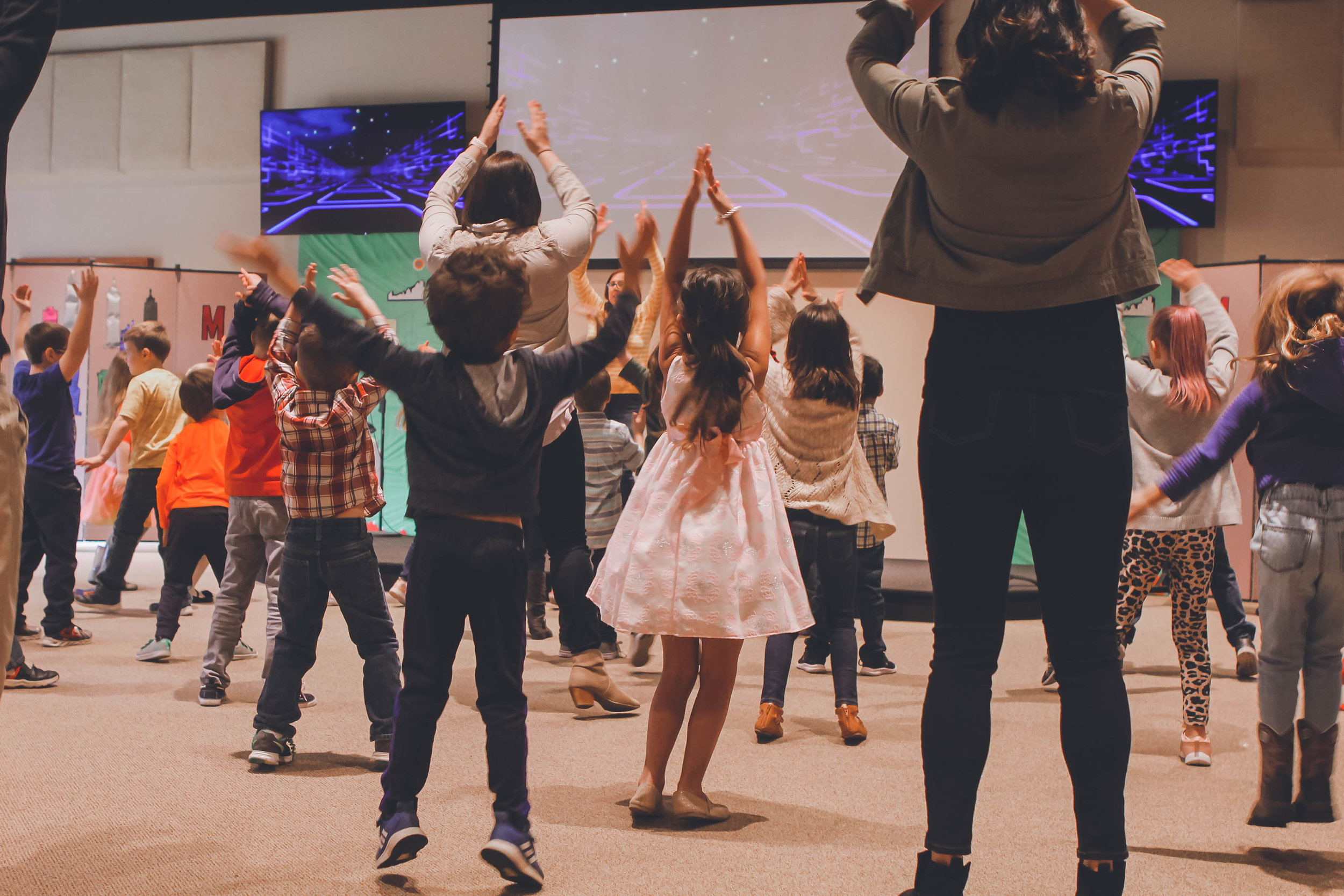 Childrens Church - Join us Sundays at 11 AM