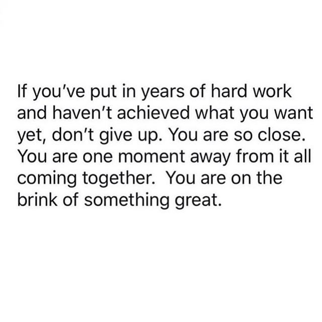 "Comment ""YES"" below if you been working hard for years. Your time is coming. Trust the process and keep moving forward one step at a time"