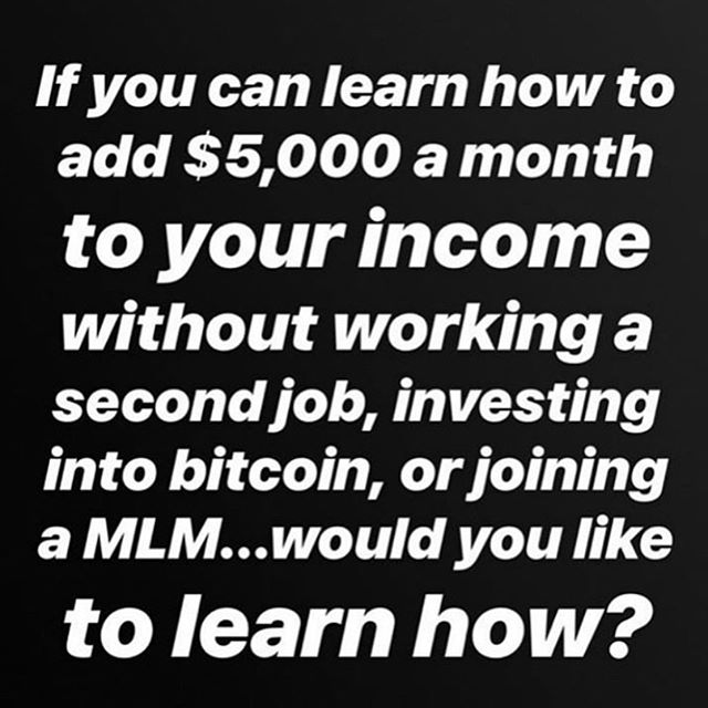 There are more people breaking out of the #poverty #mindset and receiving their worth by simply taking advantage of the digital age that we are in.  Would earning an extra $5,000 or more per month help you?  If you can learn a proven system, framework, and process to tap into how people all over the world are earning over 6 figures a year through e-commerce would you take advantage of it?  I always tell people this... if @amazon can do and is doing over 200 billion a year in sales by Dropshipping products... you can at least do $10k a month!  There is a HUGE OPPORTUNITY today to tap into this.  Who wants to learn?  Comment below!! #ecommerce