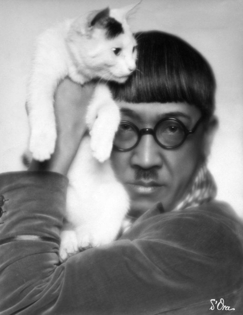 The French-Japanese artist Tsuguharu Foujita was, at one time, close friends with such early-20th-century icons as Amedeo Modigliani, Pablo Picasso, Fernand Léger, Juan Gris, and Henri Matisse. The post-Impressionist visionary had a love for cats, which was perhaps most evident in his  Book of Cats  (1930), a collection of drawings of cats by Foujita.