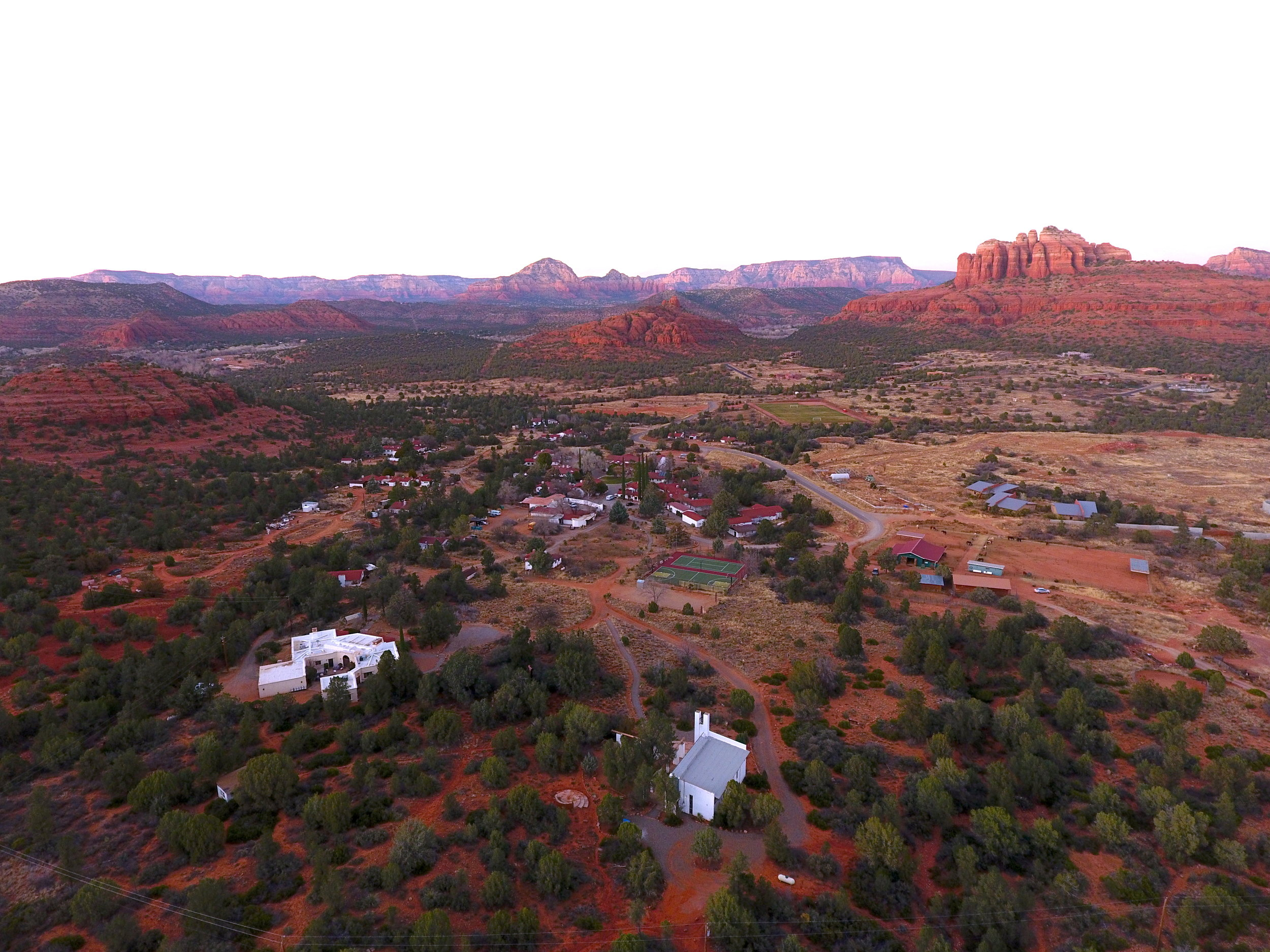 We believe people are the most inspired, the most alive, the most creative when transported to places that inspire awe. Sedona does just that. At Verde Valley School you can think big and rediscover your world. - Place Matters