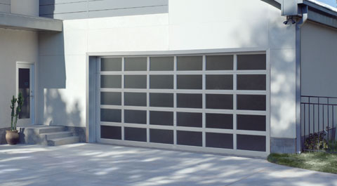 SPECIALTY SERIES  Specialty Openings. Find the perfect garage door to complement your home and personality with an aluminum full view garage door or an ornamental iron garage door. Express your style with the perfect match to your home.