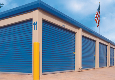 ROLLING SHEET DOORS  Roll-up sheet doors are ideal for mini warehouse and storage facilities. Constructed from 26ga by 24 in wide sheets of steel roll formed with integral grooves that are hemmed together to form a continuous sheet guided vertically by roll formed guides.