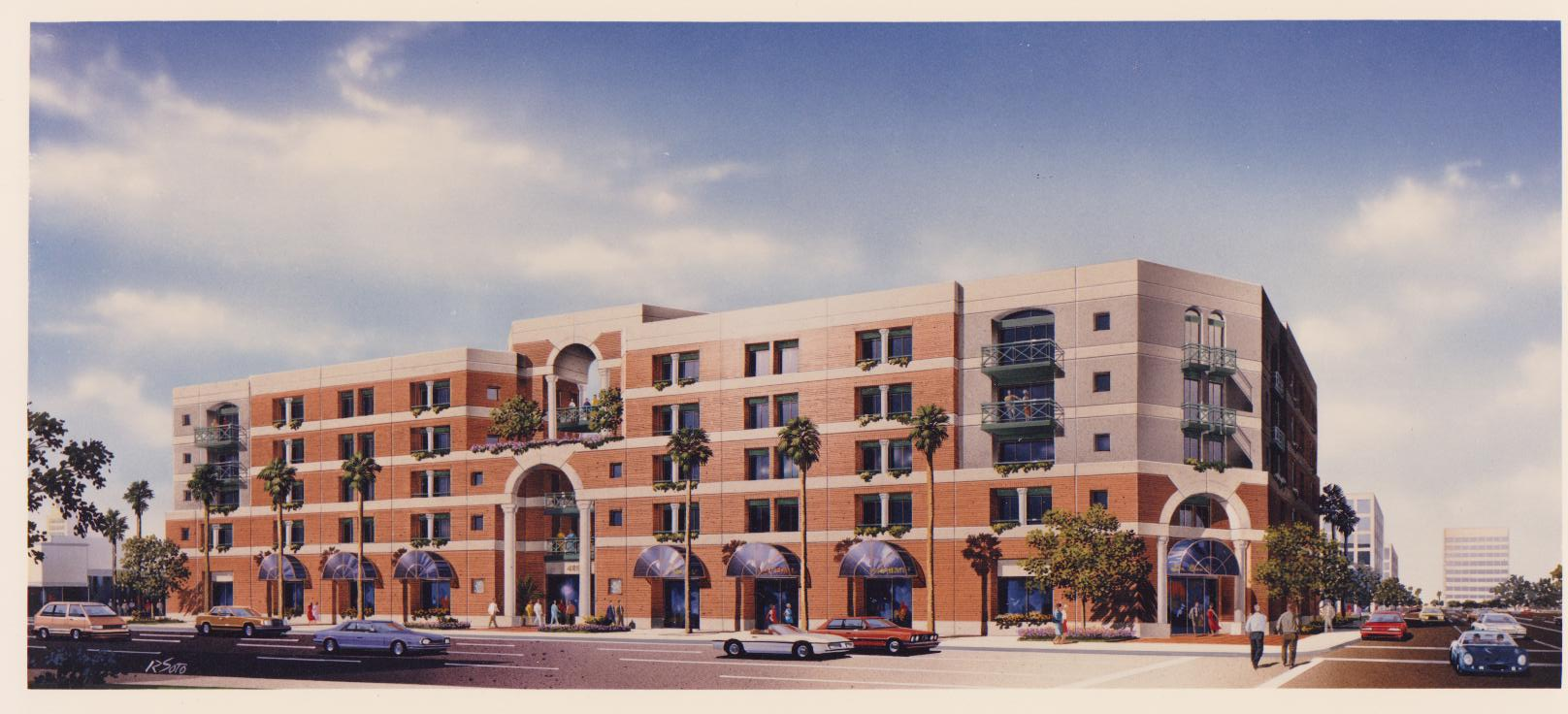 Mixed Use: Apartments over Ground Floor Retail