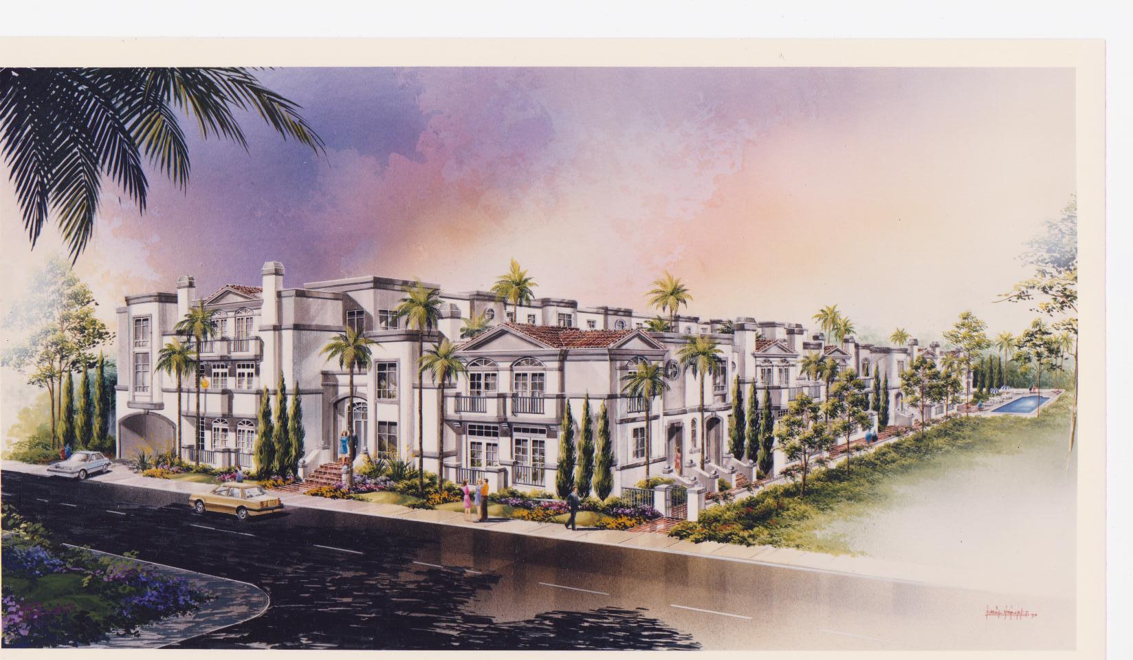 Town houses: Encino, California