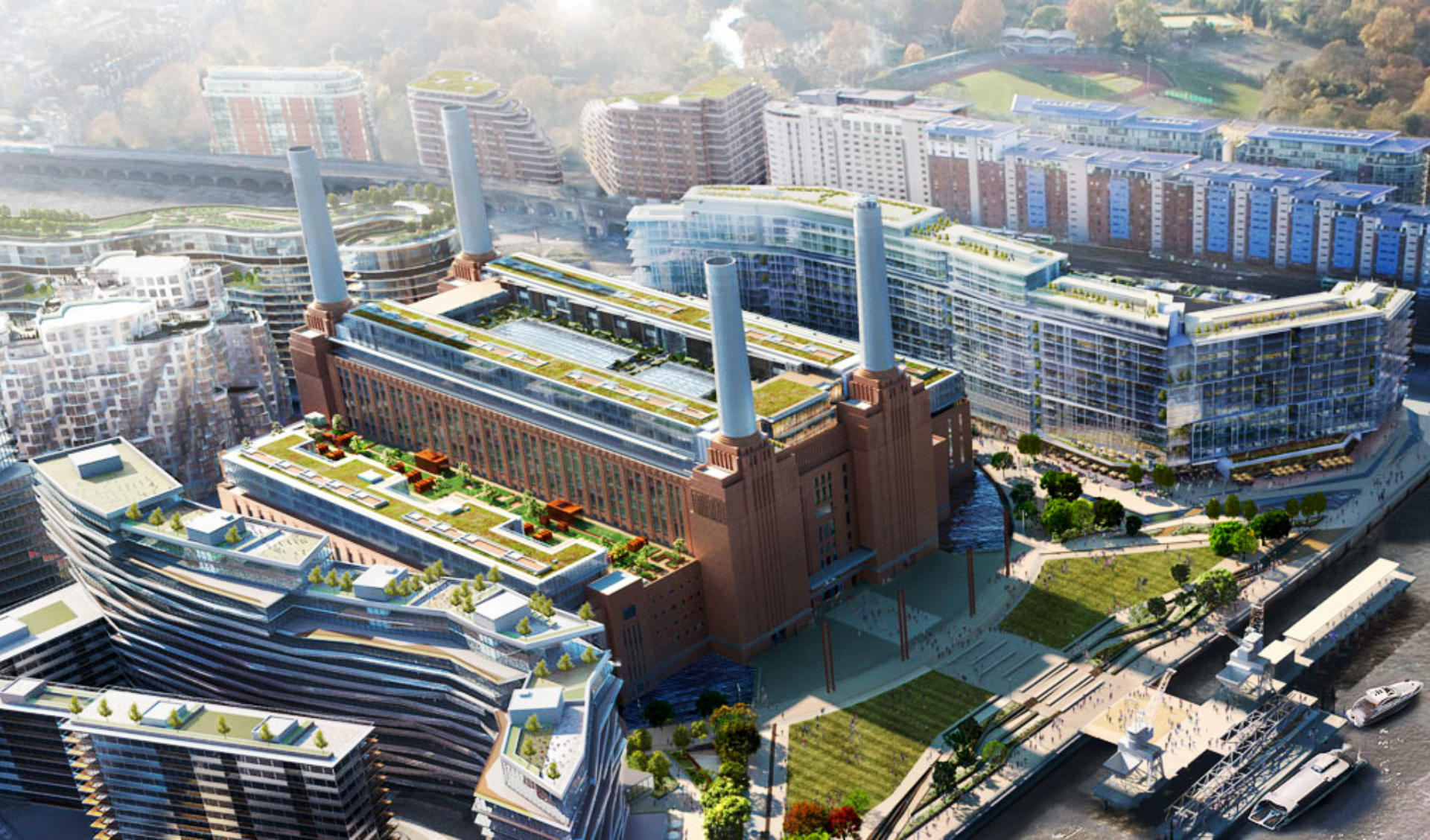 BATTERSEA POWER STATION - Expected Completion 2025 (United Kingdom)