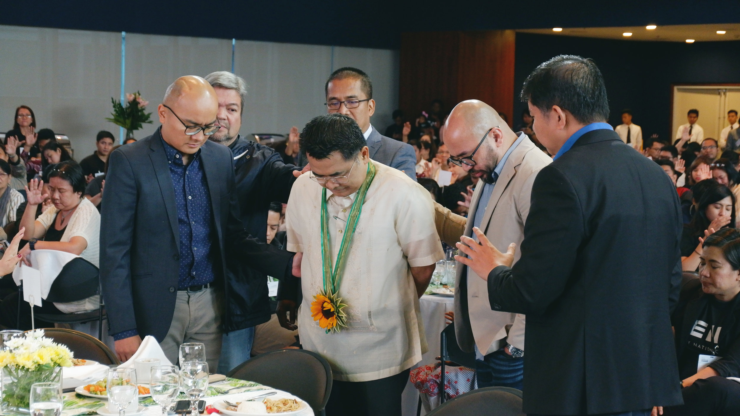 Leaders of Every Nation Philippines which Real LIFE belongs to praying for Usec. Umali and DepEd.
