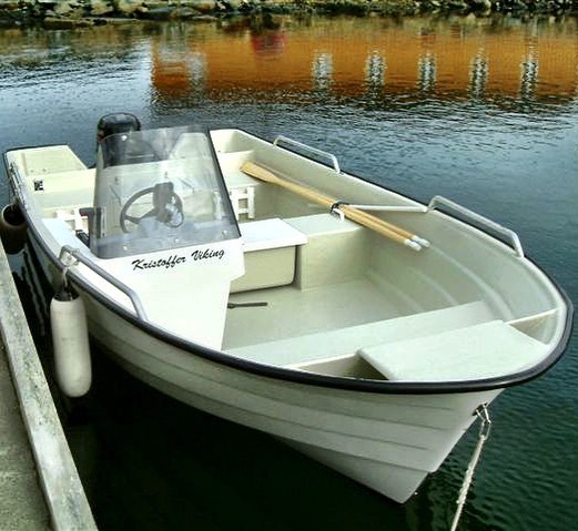 Kristoffer Viking.  One of our fishing boats available for rent.  #nyboenferiesenter #norwayfishing #norway #fishing