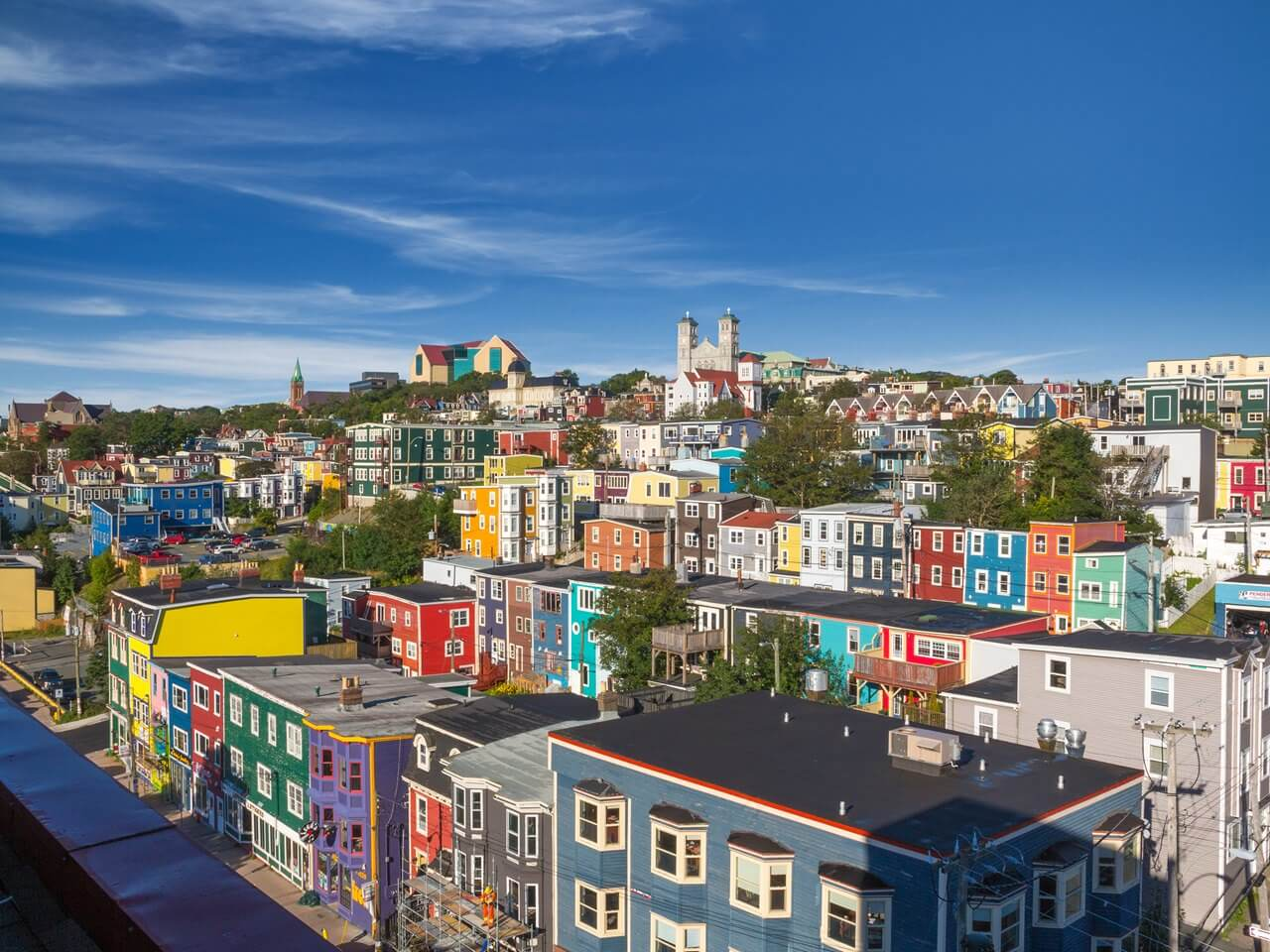 LOCATION - A vibrant, historic, colourful, and contemporary city – 500 years young. St. John's is the perfect combination of big-city luxury and traditional small-town charm. It is one of the oldest and most easterly cities in North America.Destination St. John'sTourism Newfoundland & Labrador
