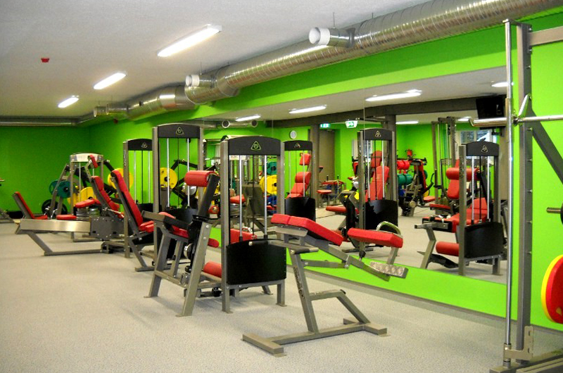 "24-7 Fitness, Estonia  The training facility, more known by the name "" GymLeco Spordiklubi "" is a Gymleco gym in Estonia – equipped with, among other things, a machine park where most of Gymleco's gym machines are available."
