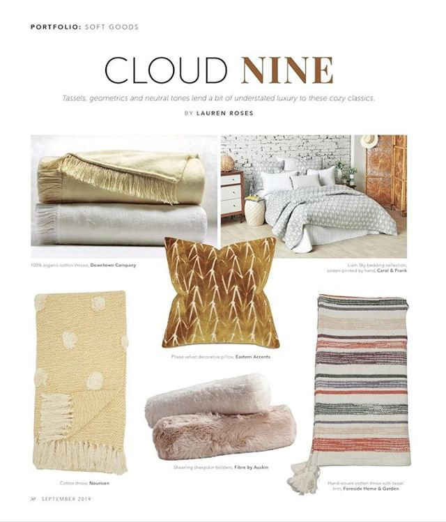 Thank you @homeaccentstoday for the #cloud9 feature in September's issue!⠀ .⠀ .⠀ .⠀ .⠀ .⠀ .⠀ #foresidehomeandgarden #ivystonesocial #wholesale #interiordesign #HATtag #homedecor #decor #modernfarmhouse #boho #quality #handmade #shop #design #home #trends #color #instadecor #instahome #homeinspo #homestyle #photography #interiors #homedesign #display #design #atlmkt #lvmkt #feature #fall