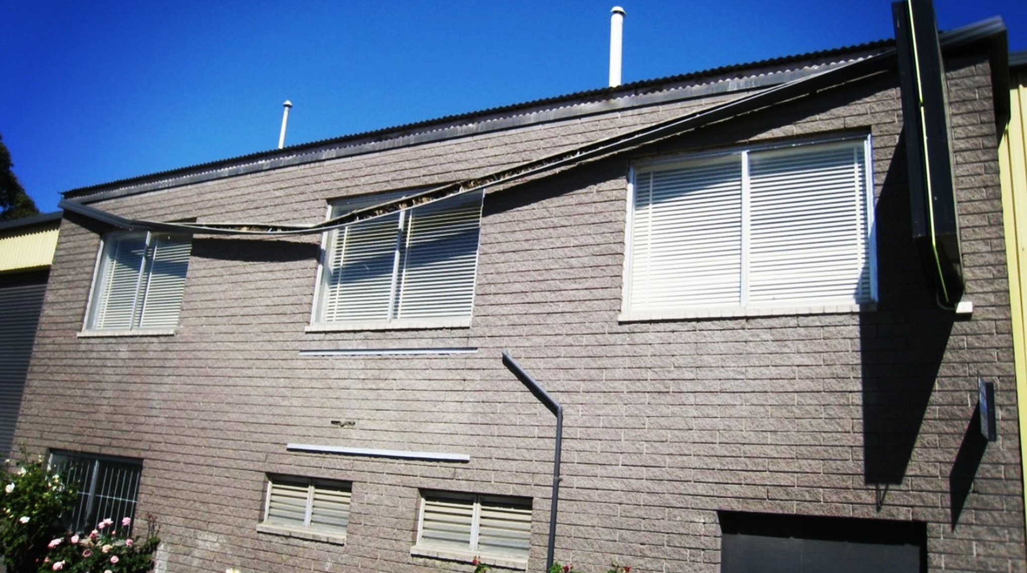 When your gutters get too full, collapsed drains and clogged pipes are NOT ideal!