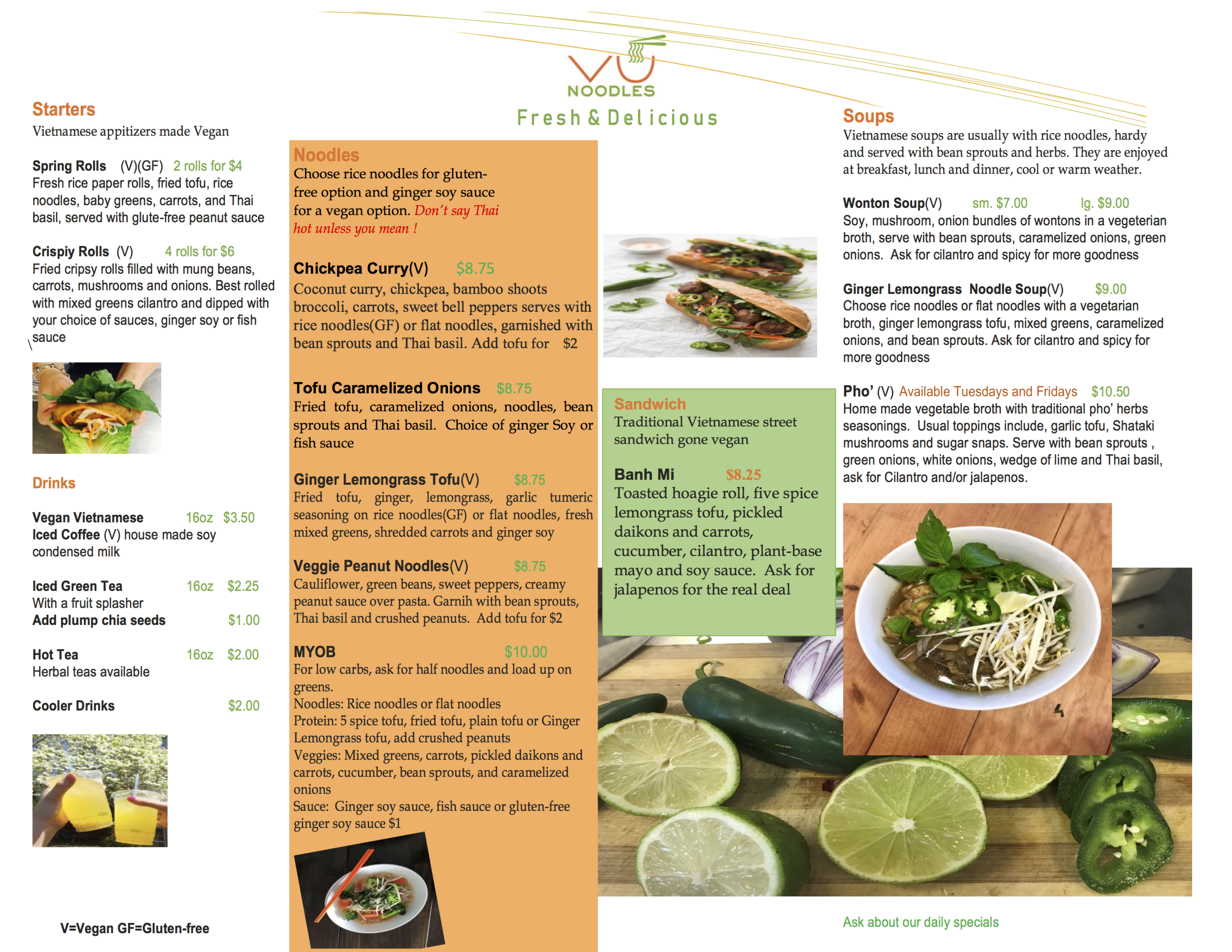 To download a copy of the menu, simply click on the image.