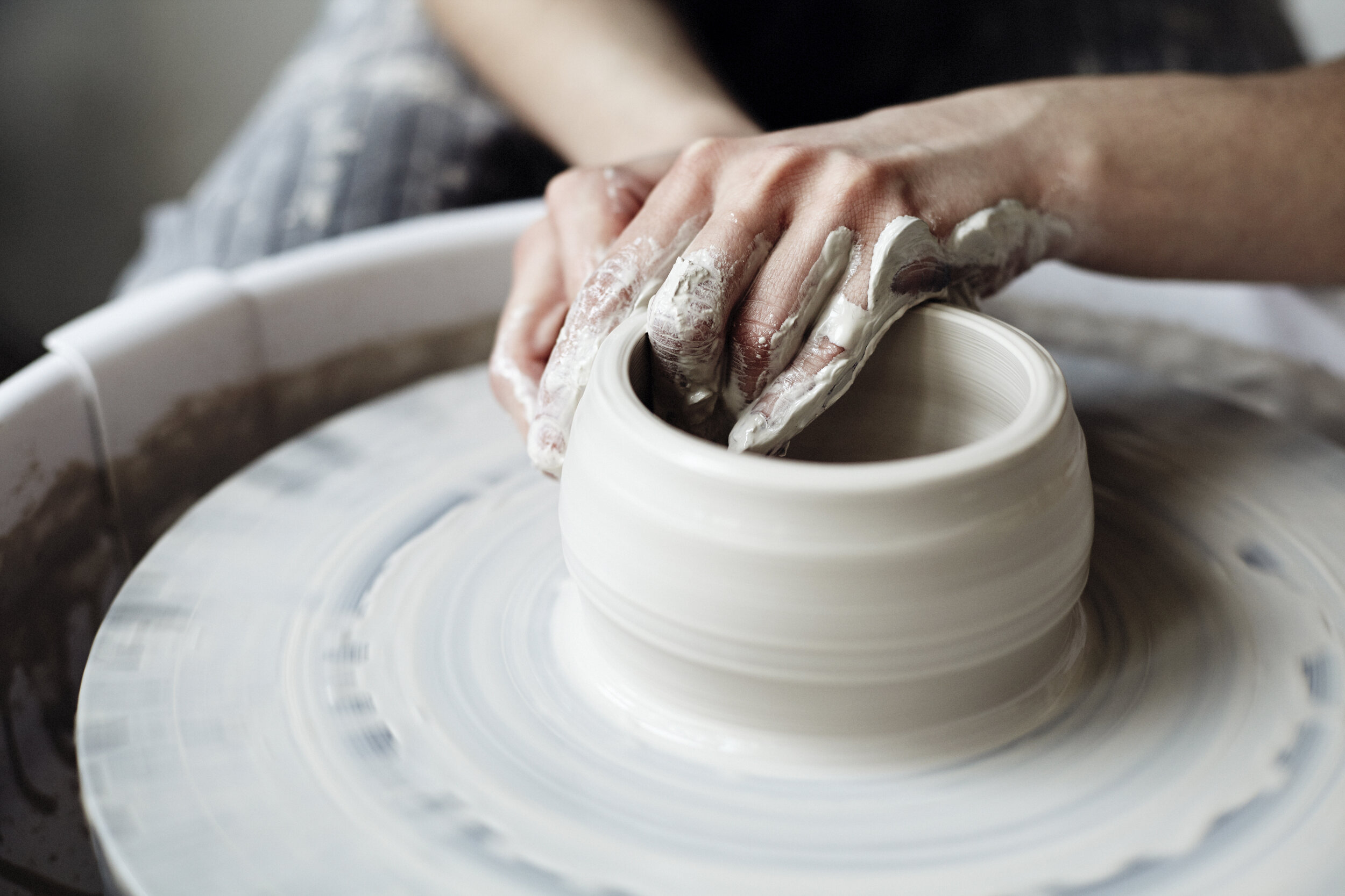 Cancelled Wed Pm Session 1 Beginning Intermediate Wheel Throwing Saratoga Clay Arts Center