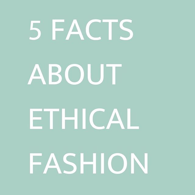 Ethical Fashion, it's a hot topic. It represents an approach to the design, sourcing, and manufacture of clothing which maximises benefits to people and communities while minimising the impact on the environment.⁠Here are 5 things you need to know about Ethical Fashion so you can reduce your carbon footprint while still looking fabulous: 1) The earth is our clothing dumping ground⁠⠀ 2) Being Ethical can still be fashionable⁠⠀ 3) You can recycle your 'dead stock'⁠⠀ 4) Donating Clothes⁠⠀ 5) Cost⁠⠀ 🌏🌍🌎 Source: @messy.veggies #sustainablefashion #ethicalfashion  #sustainability #ecobrand