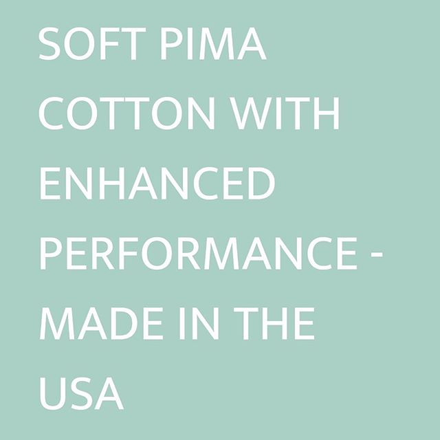 Grown in North Carolina, our pima cotton is enhanced with an eco-friendly, invisible layer that gives it added performance - including water resistance, stain resistance and more durability. 💧 #dropelfabrics #sustainableinnovation #pimacotton #madeinusa