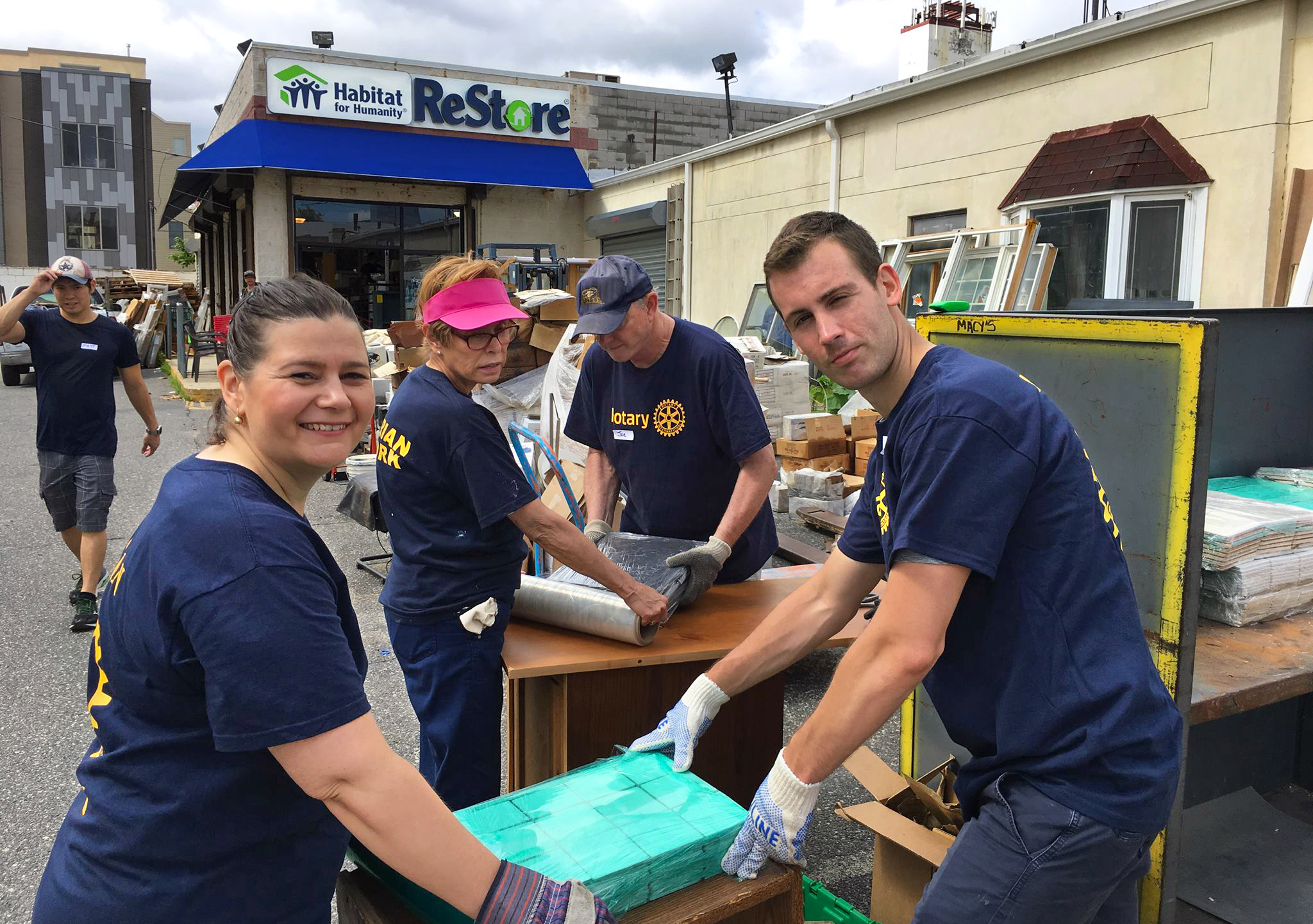 Improving local communities - We are actively involved with hands-on community service projects—from food distribution for the sick and elderly to environmental cleanup activities.