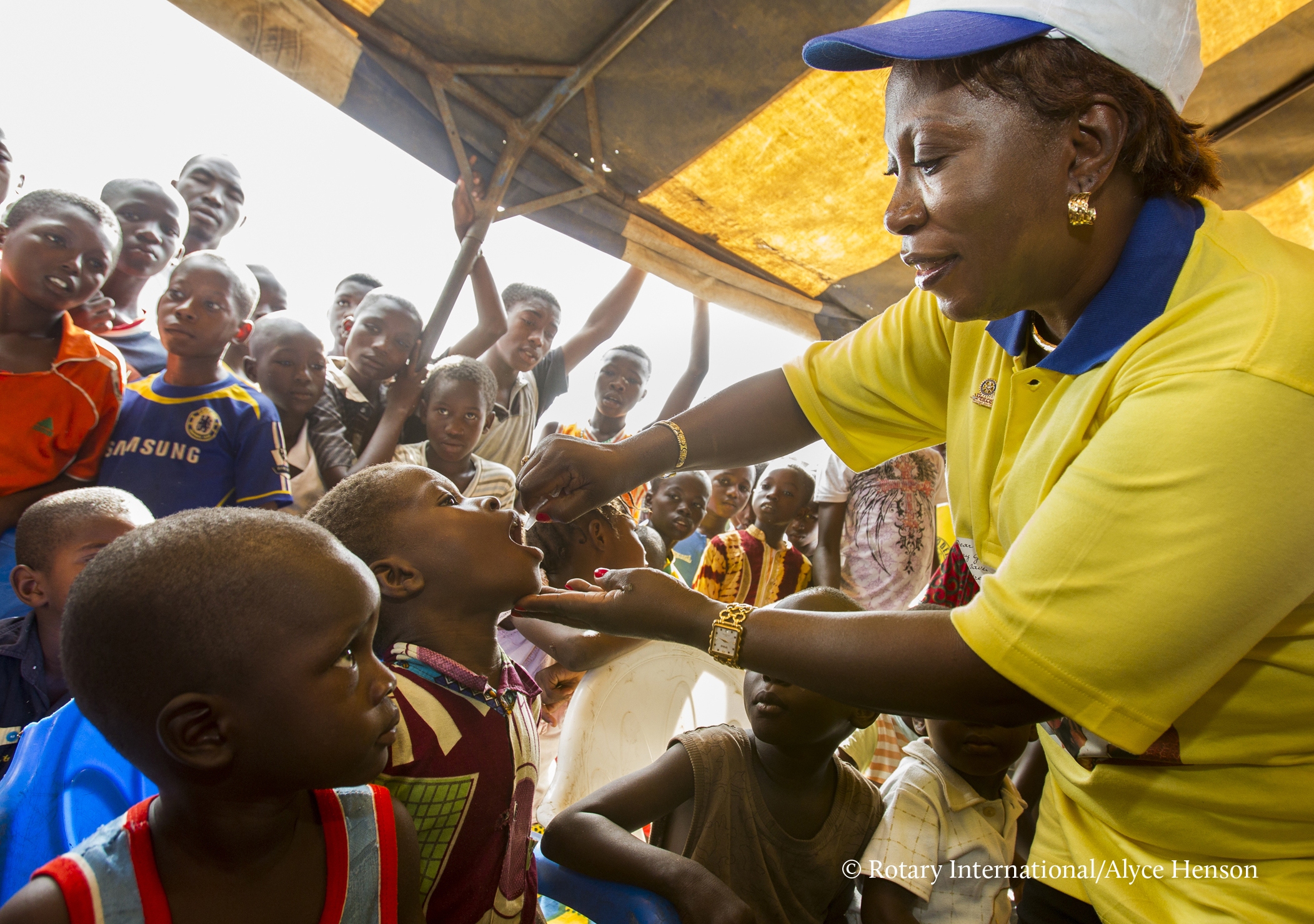 Fighting Disease - Rotary members contributed more than $1.2 billion, to help immunize more than 2 billion children in 122 countries.
