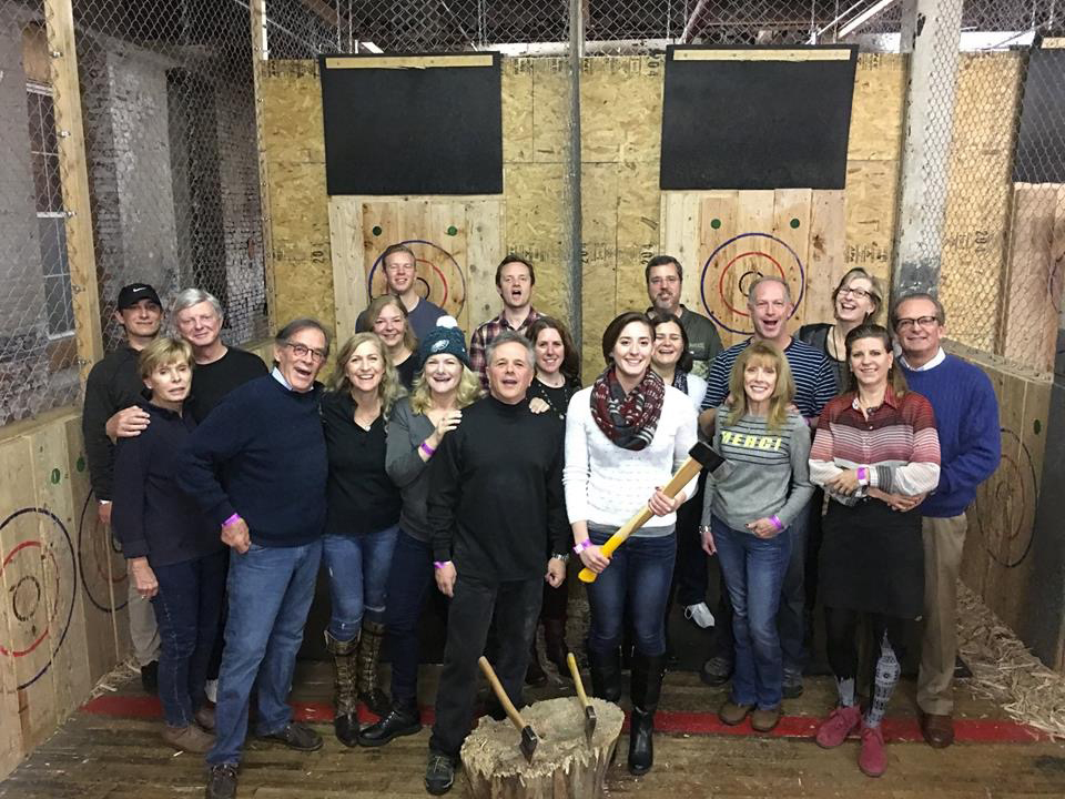 Axe-Throwing social