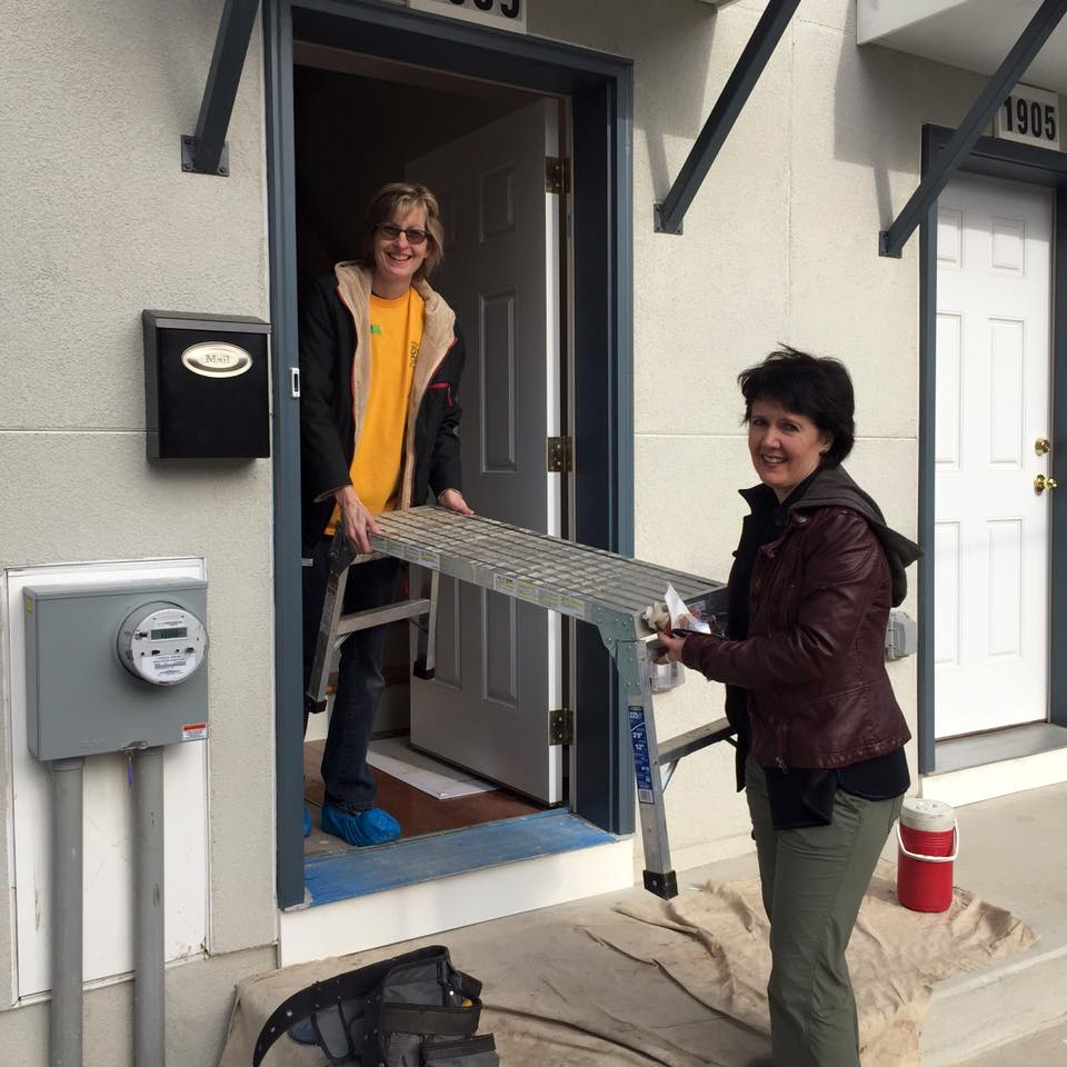 Helping to build new homes