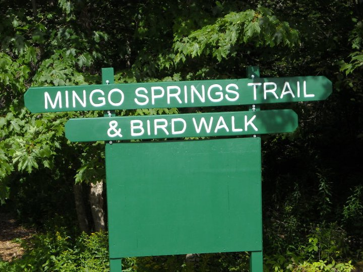 Birdwalk Trail Sign