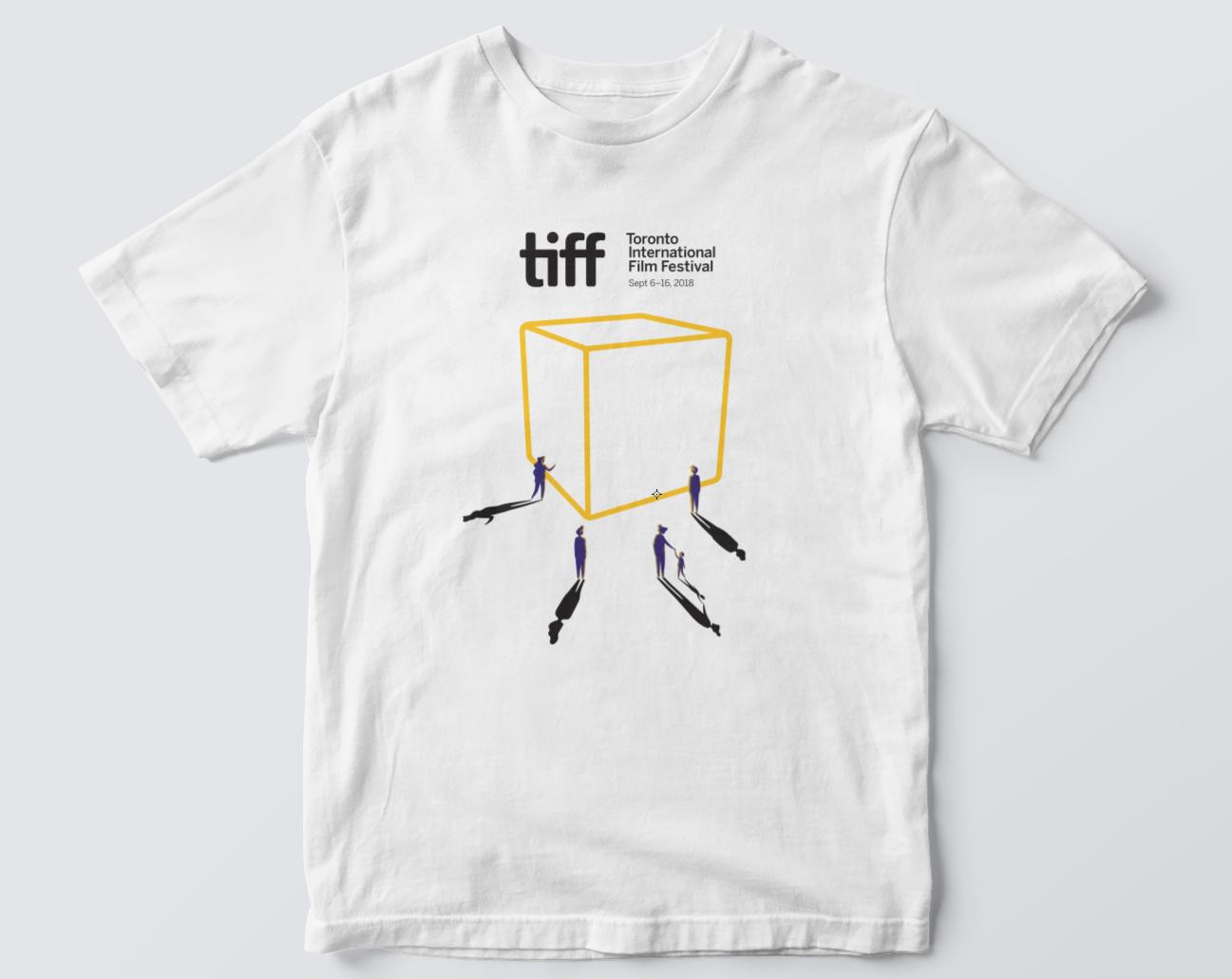 tiff white tshirt