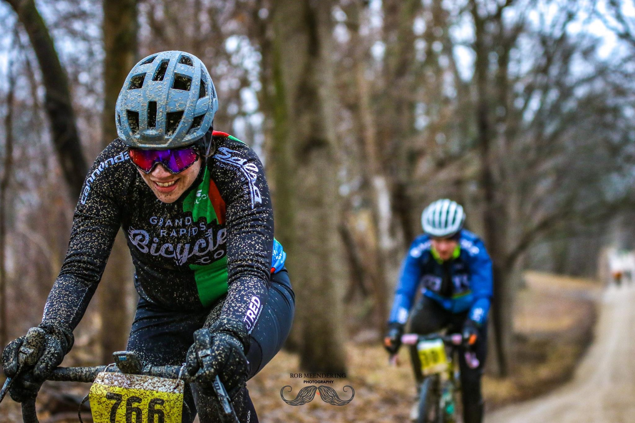 Emily Mileski racing the Dirty Thirty - Photo Credit: Rob Meendering Photography