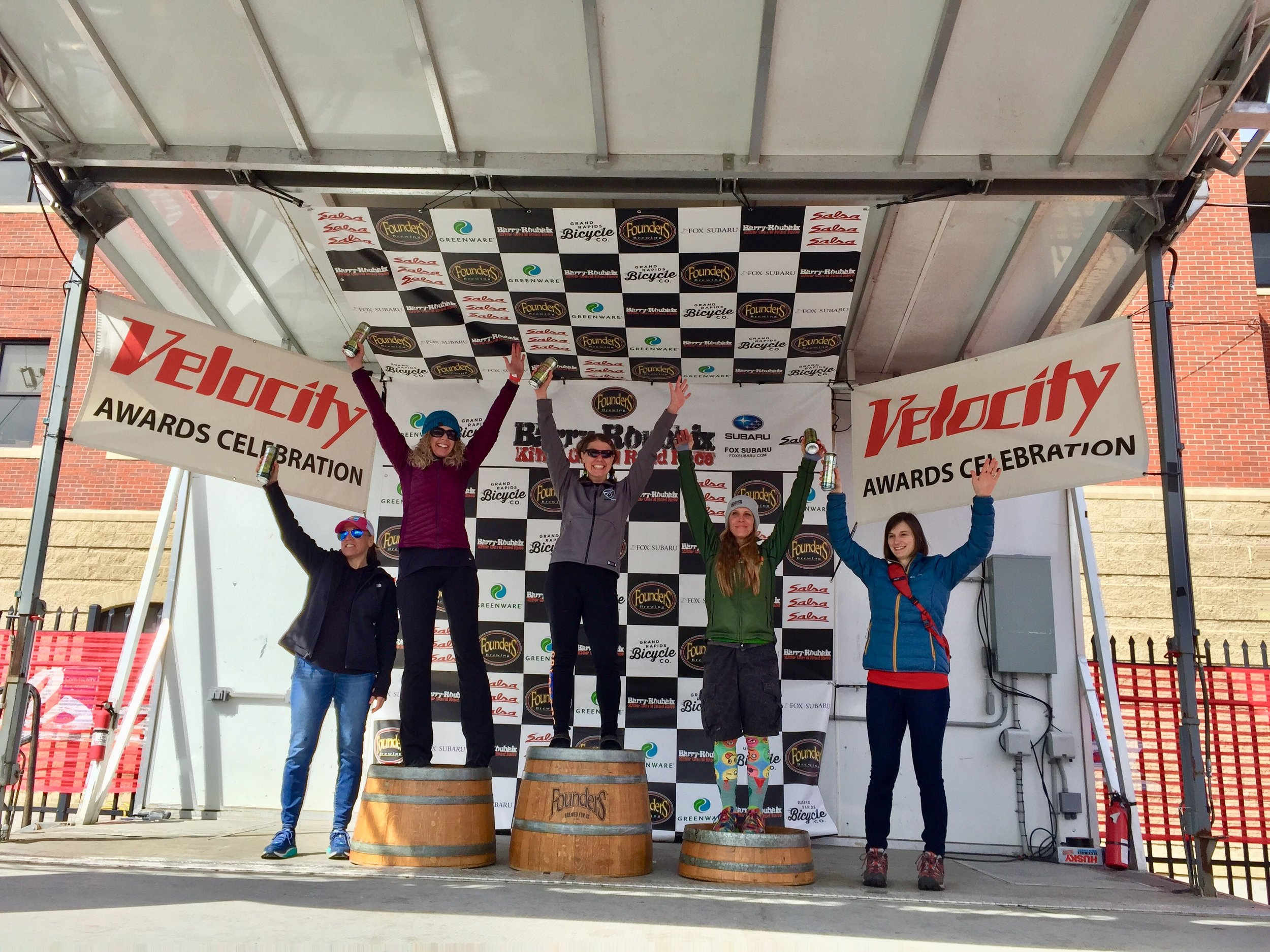 Barry-Roubaix 2019 Women's Fat Bike Podium