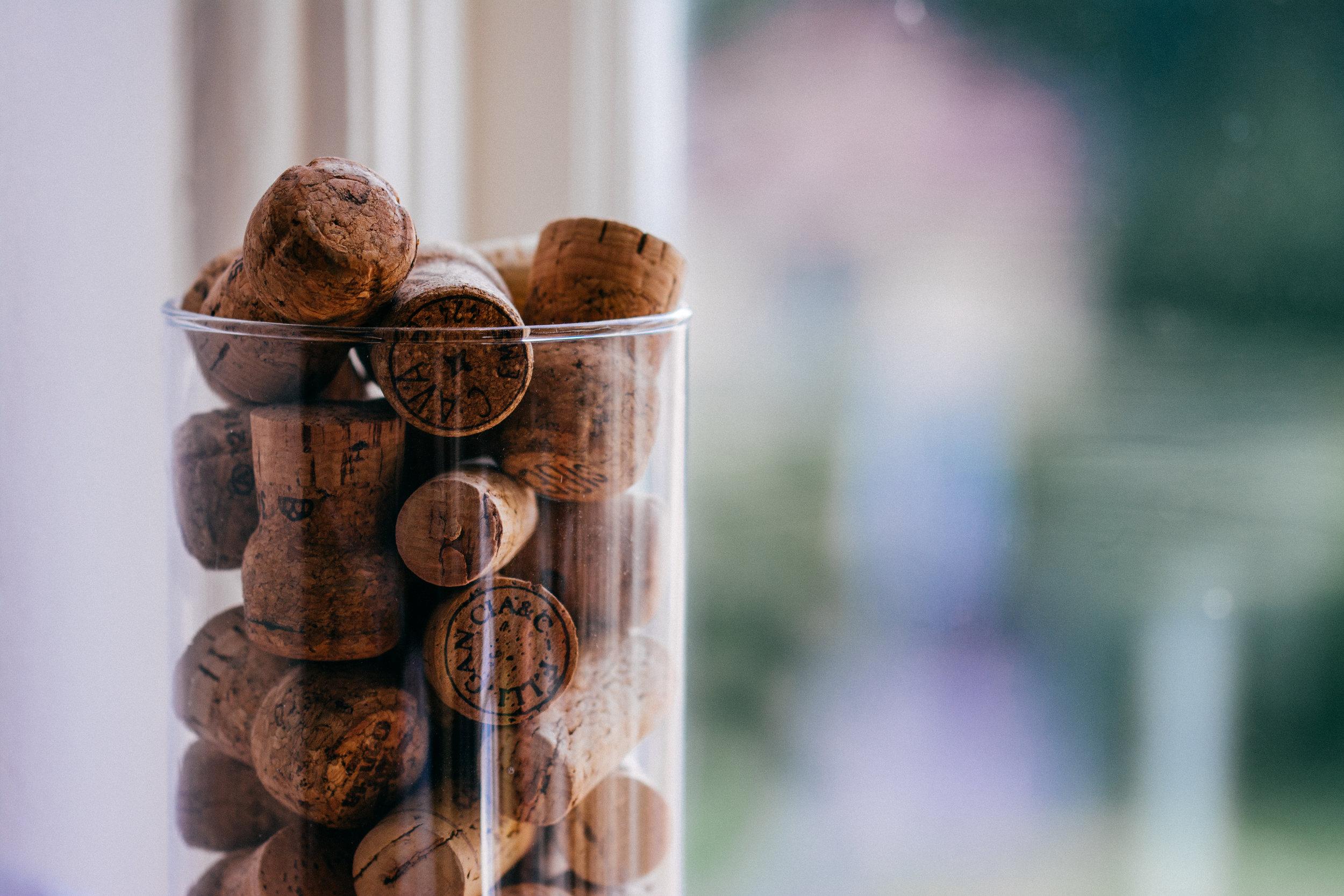 Cecile.wine - wijnworkshop - Bubbels - kurken